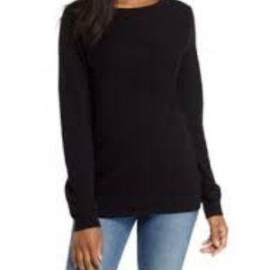 Kim Roger's curvy sweater